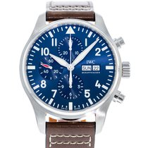 IWC Pilot Chronograph IW3777-14 Very good Steel 43mm Automatic