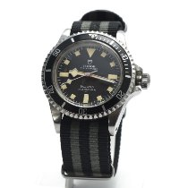 Tudor Submariner Steel 40mm Black No numerals