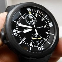 IWC Aquatimer Chronograph Stål 44mm Sort