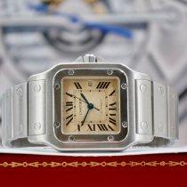 Cartier gebraucht Automatik 29mm Champagnerfarben Saphirglas 3 ATM