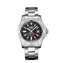 Breitling Avenger II GMT Steel 43mm Black No numerals Singapore, Singapore