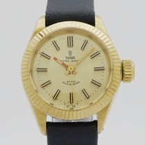 Tudor Oyster Prince Or jaune 22mm Or Sans chiffres