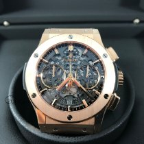Hublot Classic Fusion Aerofusion 525.ox.0180.lr Meget god Rosa guld 45mm Automatisk