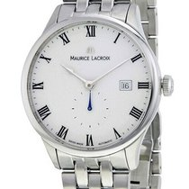 Maurice Lacroix Masterpiece Small Seconde Steel 40mm White Roman numerals