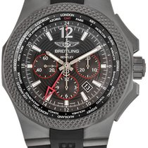 Breitling Bentley B04 GMT Титан 49mm Черный