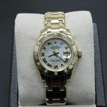 Rolex 80318 Gelbgold 2000 Lady-Datejust Pearlmaster 29mm gebraucht