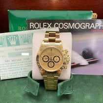 Rolex Daytona Or jaune 40mm Champagne