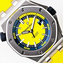 Audemars Piguet Royal Oak Offshore Diver Acero 42mm Amarillo Sin cifras