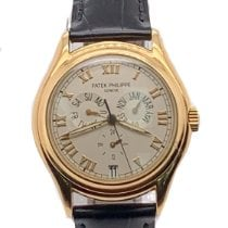 Patek Philippe Annual Calendar Yellow gold 37mm White Roman numerals United States of America, New York, New York