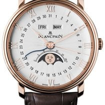 Blancpain Villeret Quantième Complet Rose gold 40mm White Roman numerals United States of America, Florida, Sunny Isles Beach