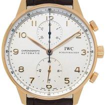 IWC Portuguese Chronograph Oro rosa Plata Arábigos España, Madrid