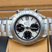 Omega Speedmaster Date Steel 40mm Silver No numerals