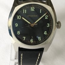 Eterna Heritage Military Acero 40mm Negro