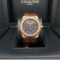 Audemars Piguet Royal Oak Selfwinding Pозовое золото 39mm Чёрный Без цифр