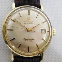 Omega Seamaster DeVille Aur/Otel 34mm Argint Fara cifre