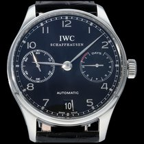 IWC Portuguese Automatic Steel 42mm Black Arabic numerals