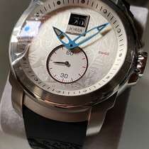 Michel Jordi Steel 45mm Quartz new