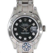 Rolex 80319 Or blanc 2005 Lady-Datejust Pearlmaster 29mm occasion
