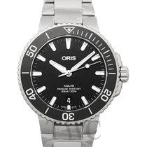 Oris Aquis Date 01 733 7732 4134-07 8 21 05PEB new