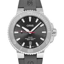 Oris Aquis Date Steel 43.5mm Grey