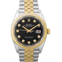 Rolex Datejust 126233G Black New Steel
