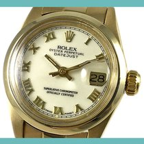 Rolex Oyster Perpetual Lady Date usados 26mm Fecha Oro amarillo