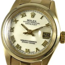 Rolex 6916 Or jaune 1977 Oyster Perpetual Lady Date 26mm occasion