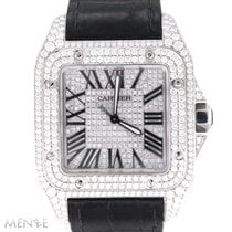 Cartier Santos 100 W20073X8 Very good Steel 51mm Automatic