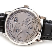 A. Lange & Söhne Lange 1 Platine 41.9mm Argent Romain France, Paris