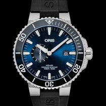 Oris Aquis Small Second new 2021 Automatic Watch with original box and original papers 01 743 7733 4135-07 4 24 64EB