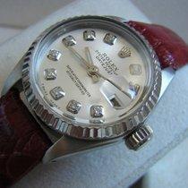Rolex Lady-Datejust Stahl 26mm Silber Keine Ziffern Deutschland, Liebschützberg
