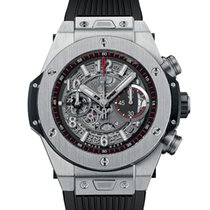 Hublot Big Bang Unico Titanium 45mm Black Arabic numerals