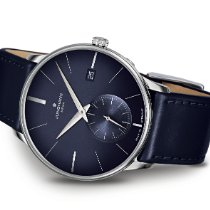 Junghans Meister MEGA Steel 38,4mm Blue No numerals