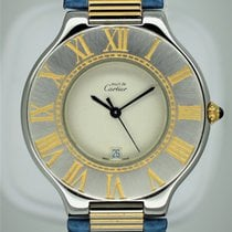 Cartier 21 Must de Cartier Gold/Steel 31mm Silver Roman numerals United States of America, Florida, Miami