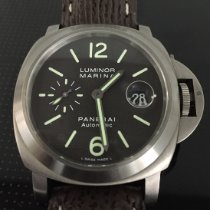 Panerai Luminor Marina Automatic occasion 44mm Brun Date Cuir