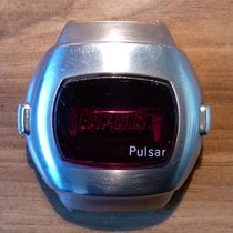 Pulsar pre-owned Quartz 45mm Mineral Glass Not water resistant
