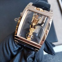 Corum Golden Bridge 113.550.55 Very good Rose gold Manual winding