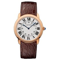 Cartier Ronde Solo de Cartier Rose gold 36mm Silver United States of America, Georgia, Alpharetta