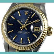 Rolex Lady-Datejust Acero y oro 26mm Azul Sin cifras España, Barcelona