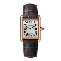 Cartier Tank Louis Cartier Rose gold 33.7mm Silver Roman numerals