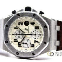Audemars Piguet Royal Oak Offshore Chronograph Acero 42mm Plata Arábigos España, Madrid