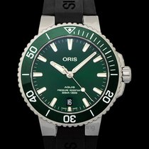 Oris Aquis Date 39.50mm Green United States of America, California, Burlingame