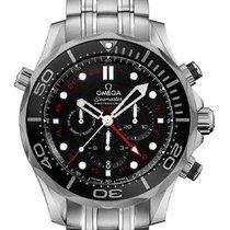 Omega Seamaster Diver 300 M Steel 44mm Black