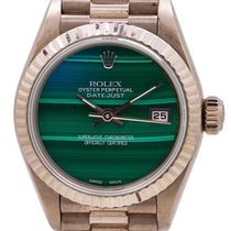 Rolex 79179 Or blanc 2001 Lady-Datejust 26mm occasion