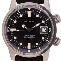 Benrus Steel 34mm Automatic 6089 pre-owned