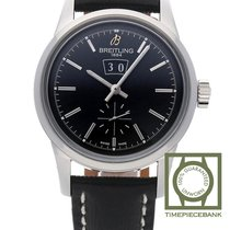 Breitling Transocean 38 Steel 38mm Black