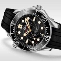 Omega Seamaster Diver 300 M Сталь 42mm Черный Без цифр