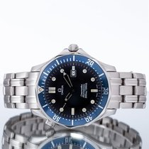 Omega Seamaster Diver 300 M Stal 41mm Niebieski