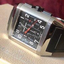 Jaeger-LeCoultre Reverso Squadra Chronograph GMT Acero 35mm Negro Árabes