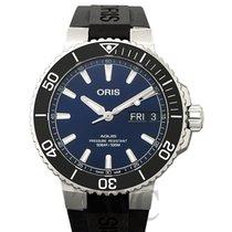 Oris Hammerhead Limited Edition Acier 45.5mm Bleu